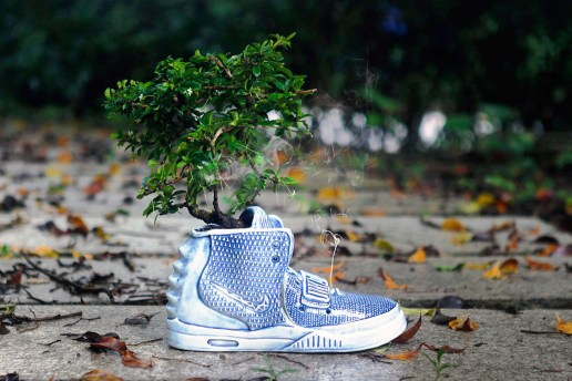 The Nike Air Yeezy 2 Is Transformed Into a Ceramic Vase