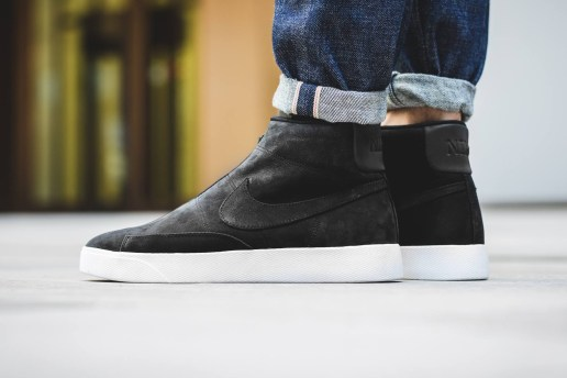 The Nike Blazer Releases in a Laceless Form