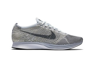 "Nike's Popular Flyknit Racer Silhoutte Dons a ""Pure Platinum"" Colorway"