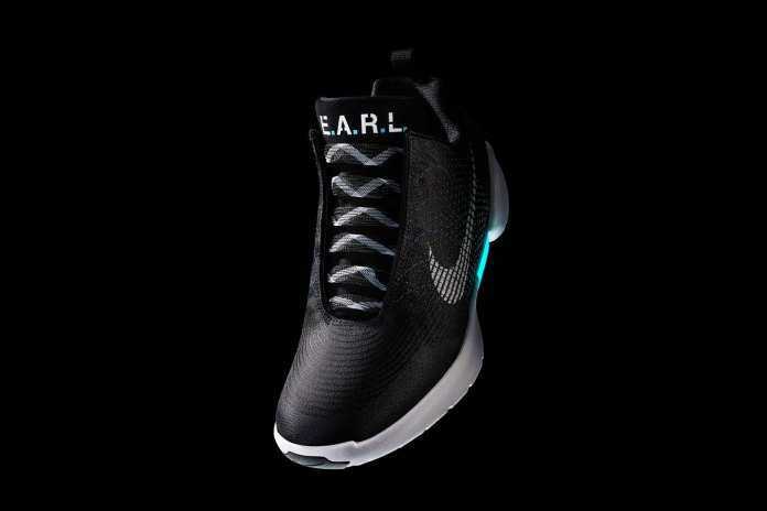 Nike's Self-Lacing Hyperadapt 1.0 Shoe Gets an Official Release Date