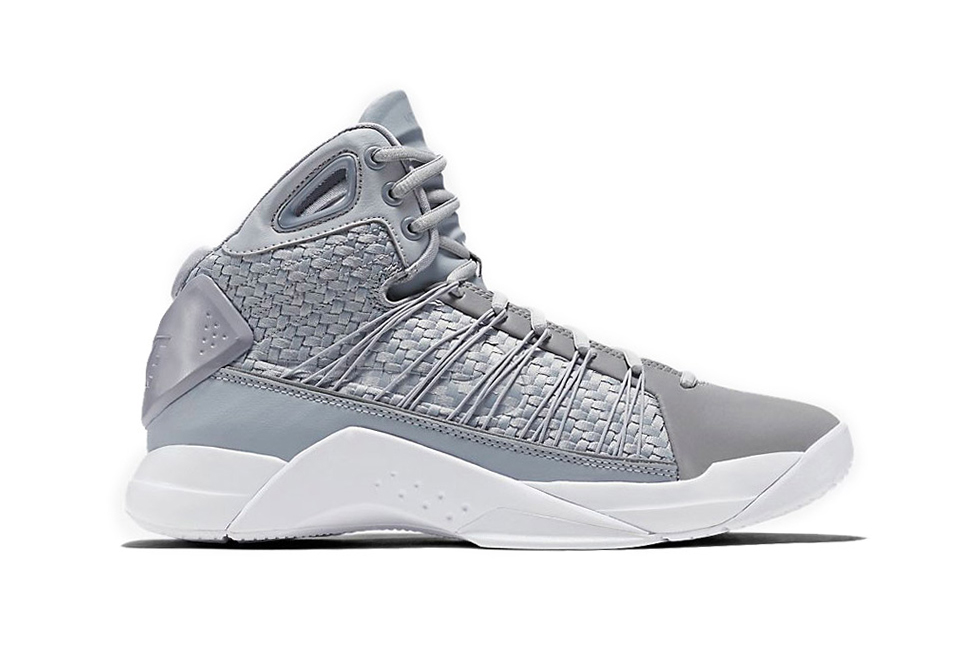Nike's Hyperdunk Lux Takes the Cool Grey Route