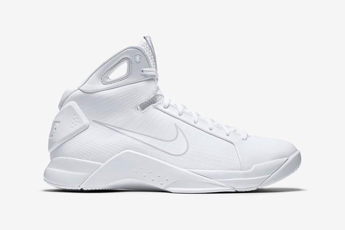 Nike Releases the Original Hyperdunk in Triple-White