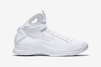 Nike Releases the Original Hyperdunk in Triple-White