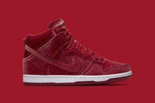 Nike SB Is Dropping Red Velvet High-Top Dunks