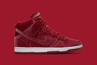 Nike SB Is Dropping Red Velvet High-Top Dunks