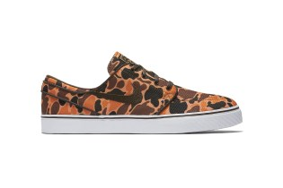 Nike SB Drops a Bold Camouflage Rendition of the Zoom Stefan Janoski