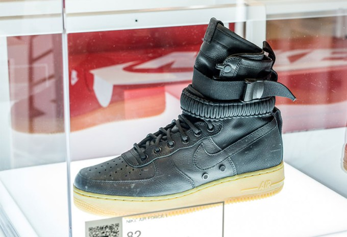 First Look at Nike's Special Field Air Force 1, SFAF-1