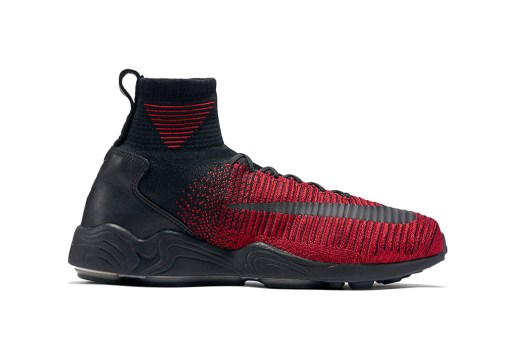 "Nike Wraps the Latest Zoom Mercurial Flyknit in ""University Red"""