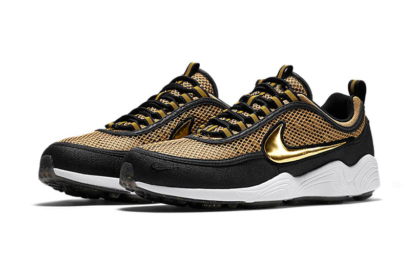 "The Nike Zoom Spiridon ""Metallic Gold"" Receives a Release Date"