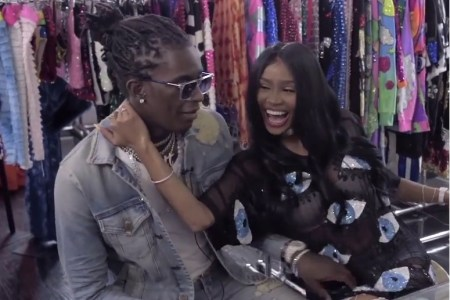 Watch as Young Thug Gives Love Advice While Choosing the Dress for His 'No, My Name Is JEFFERY' Album Cover