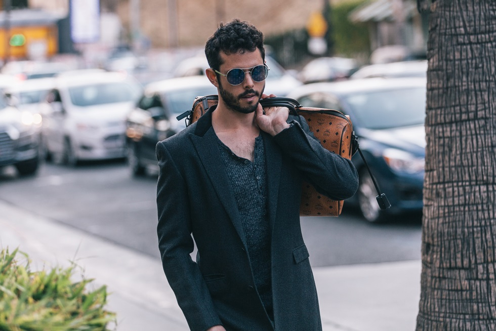 The Nomadic Chef, Ari Taymor Sports MCM's Latest Travel Collection