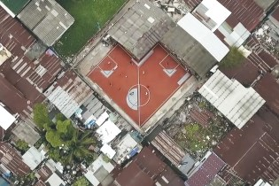 Take a Look at the World's First Non-Rectangular Soccer Field in Thailand