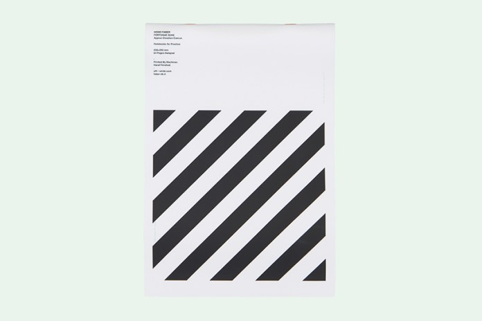 OFF-WHITE Styles up Your Notepads