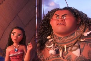 "Dwayne ""The Rock"" Johnson Fights Giant Sea Creatures in Official 'Moana' Trailer"