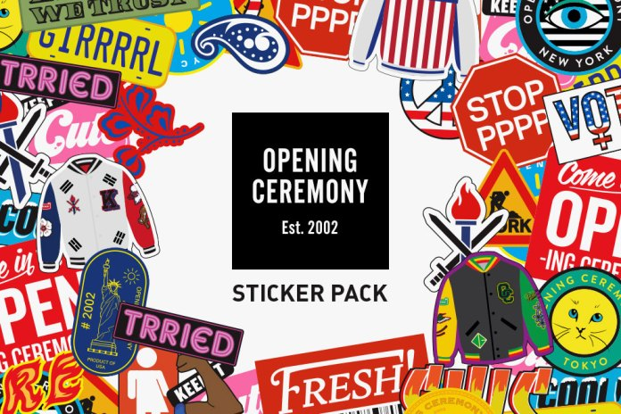 Opening Ceremony Comes out With a Pack of Stickers for iMessage