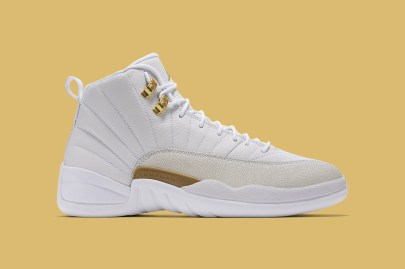 UPDATE: Nike Officially Unveils the White Colorway of the OVO x Air Jordan 12