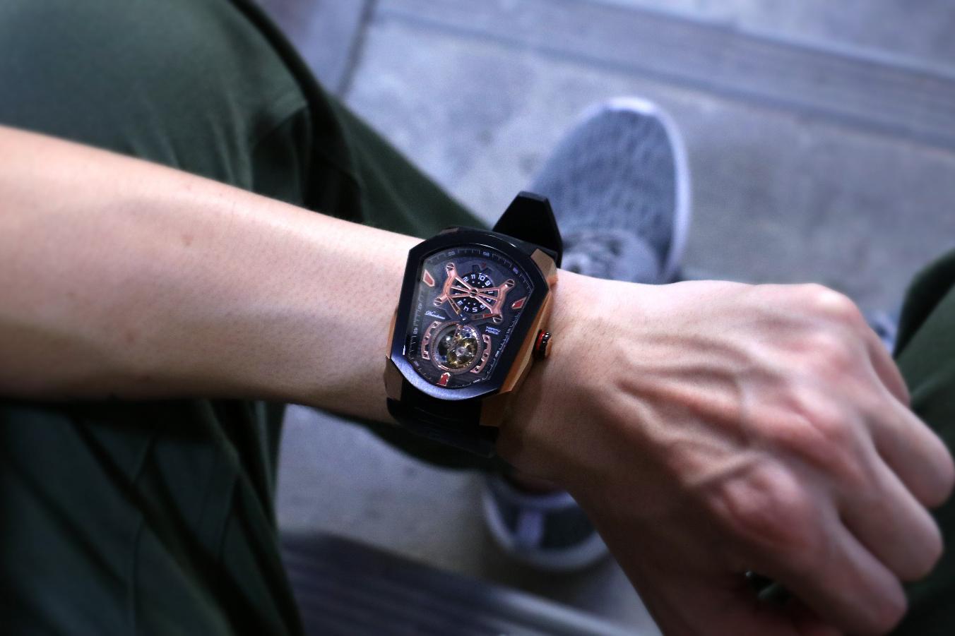 Phantoms Trinity Force Tourbillon Watch Series - 1325436
