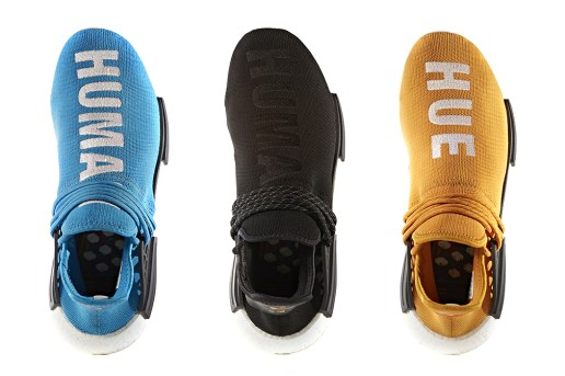 "adidas Originals to Release Five New Pairs of Pharrell's ""Human Race"" NMD"