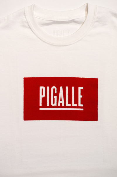 Pigalle Tokyo First Anniversary T-Shirt red box logo