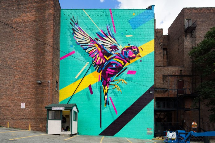 POW! WOW! Fills Worcester, Massachusetts With Stunning Art Murals