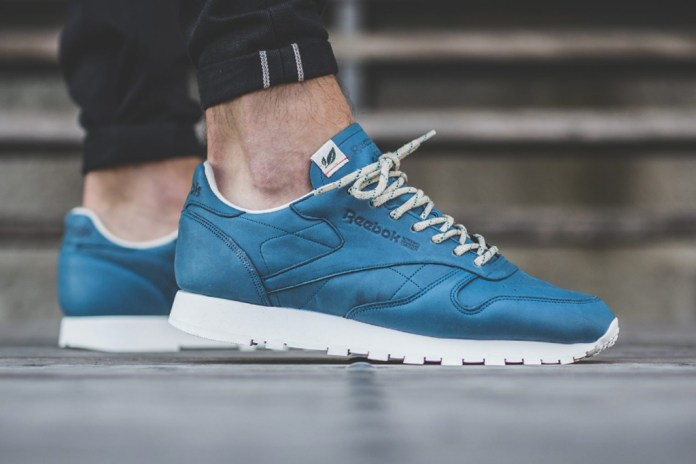"""The Reebok Classic Leather Sees a """"Botanical Blue"""" Makeover"""