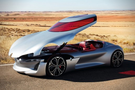 Renault Takes the Top off Its Latest Car, the Trezor