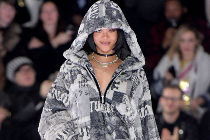 Rihanna Will Unveil Her FENTY x PUMA 2017 Spring Collection at Paris Fashion Week