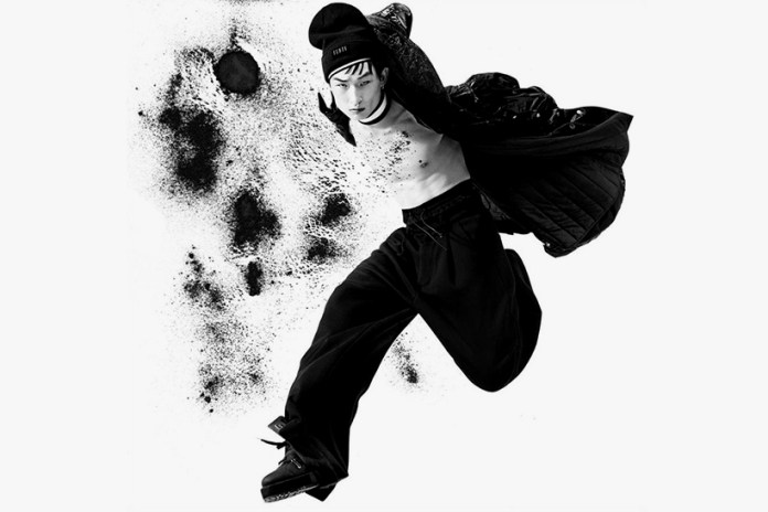 Sang Woo Kim Fronts Rihanna's FENTY x PUMA 2016 Fall/Winter Campaign