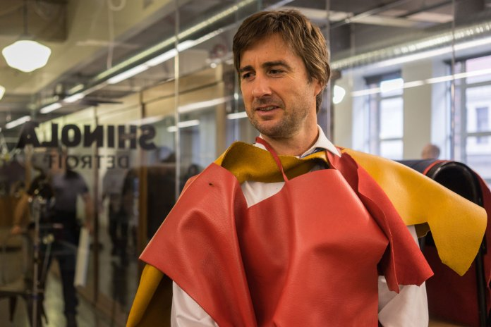 A Whimsical 360-Video Tour of the Shinola Headquarters With Luke Wilson
