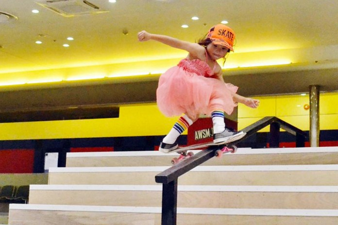 8-Year-Old Skateboarder Becomes Youngest Girl to Compete in Vans Open Pro Series