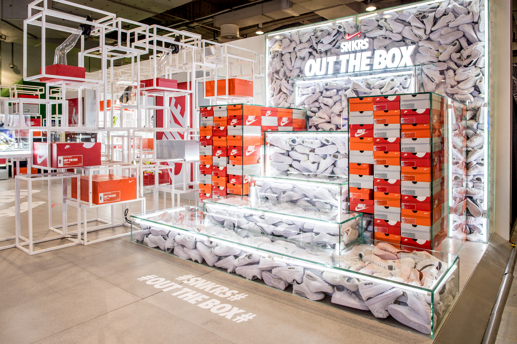 Nike SNKRS Out of the Box at Yo'HOOD - 1315998