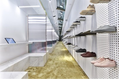 SOTF Offers a Futuristic Sneaker Shopping Experience