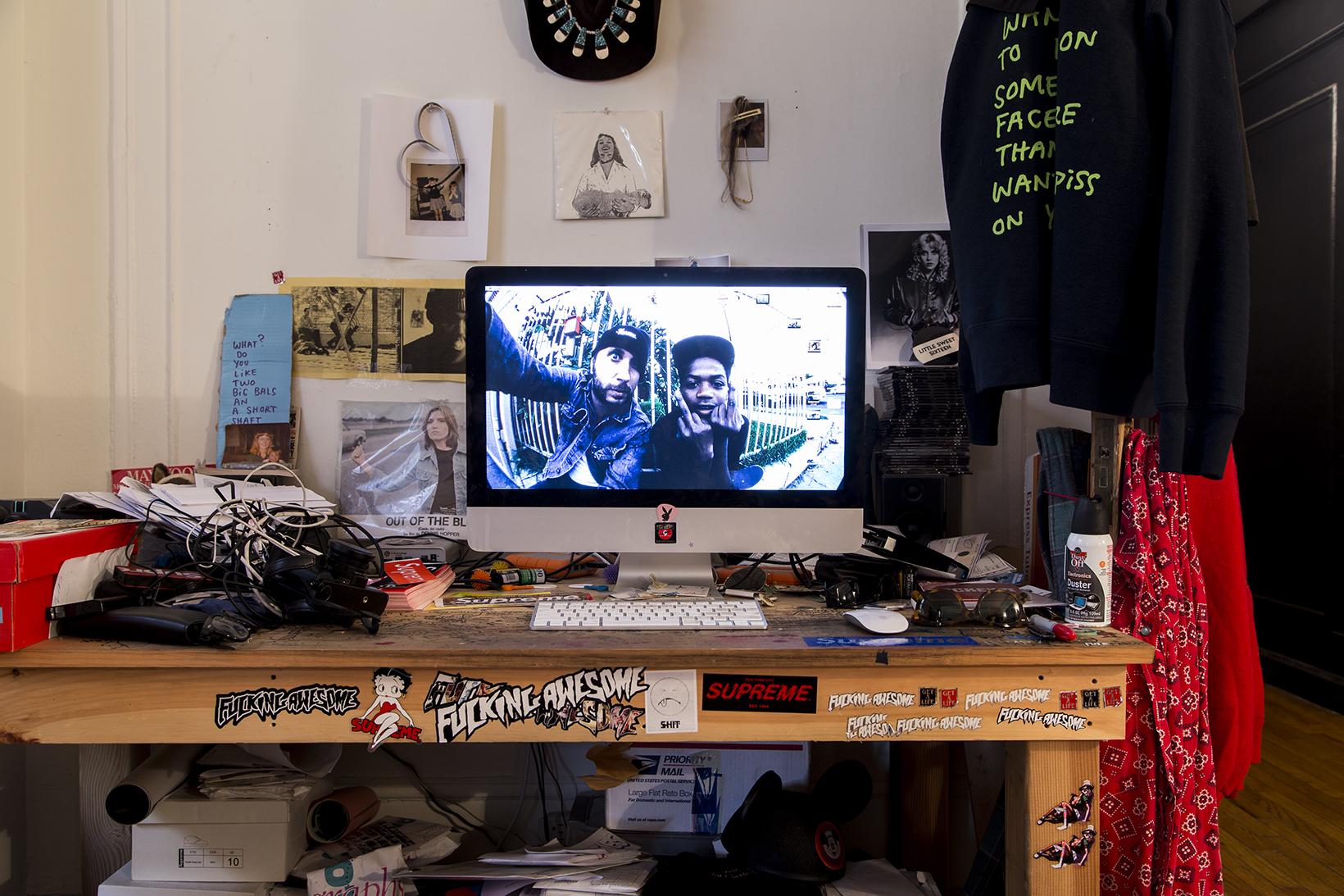 SPACES: William Strobeck's Studio Is a Treasure Trove of Skate Memorabilia