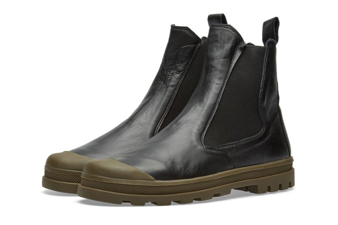 Stone Island's Shadow Project Presents the Commando Chelsea Boot