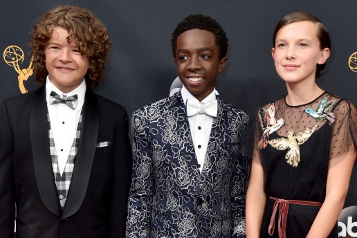 """Watch the 'Stranger Things' Kids Slay An """"Uptown Funk"""" Performance at Emmys Pre-Show"""