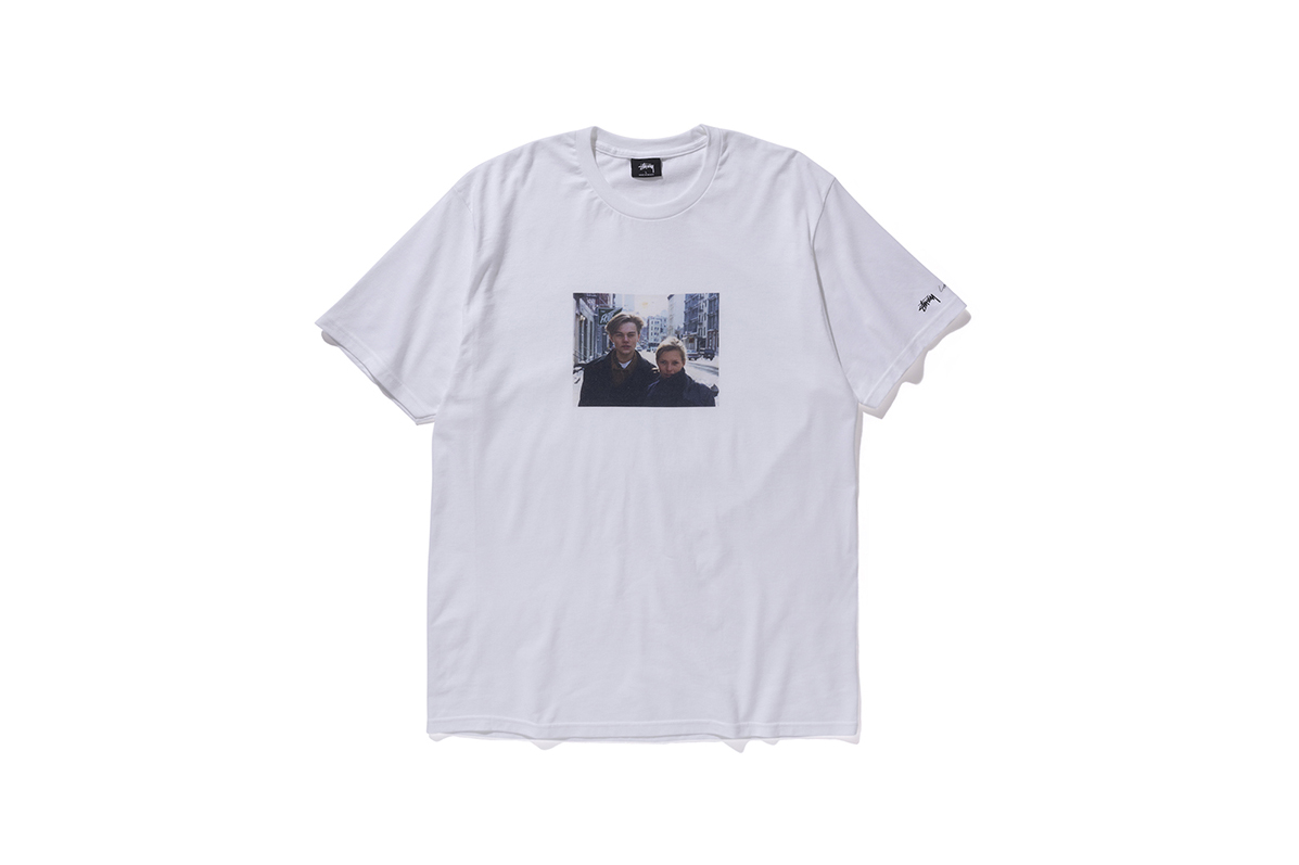 Stüssy Taps Larry Clark for a T-Shirt Featuring Leonardo DiCaprio & Kate Moss