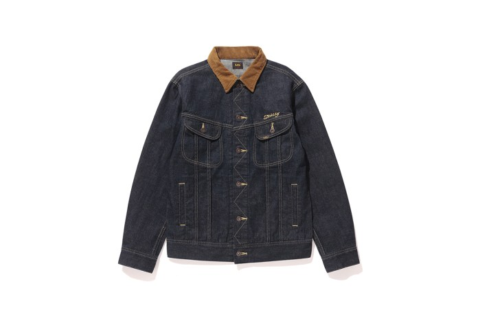 Stüssy & Lee Return for 2016 Fall With More Denim Jackets & Jeans