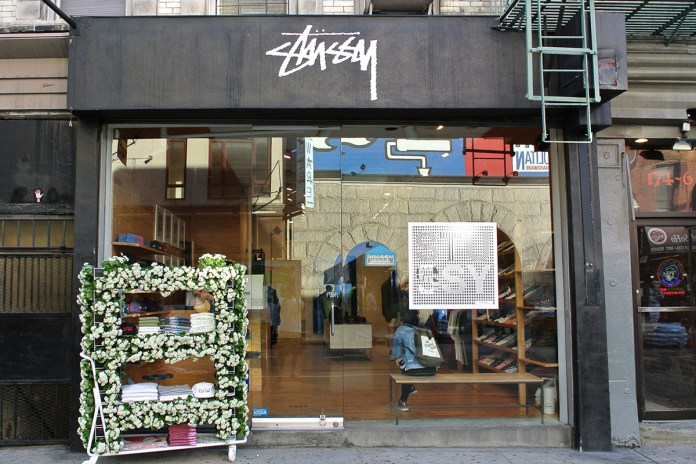 Stüssy New York Chapter Pack and Flower Cart Now Open
