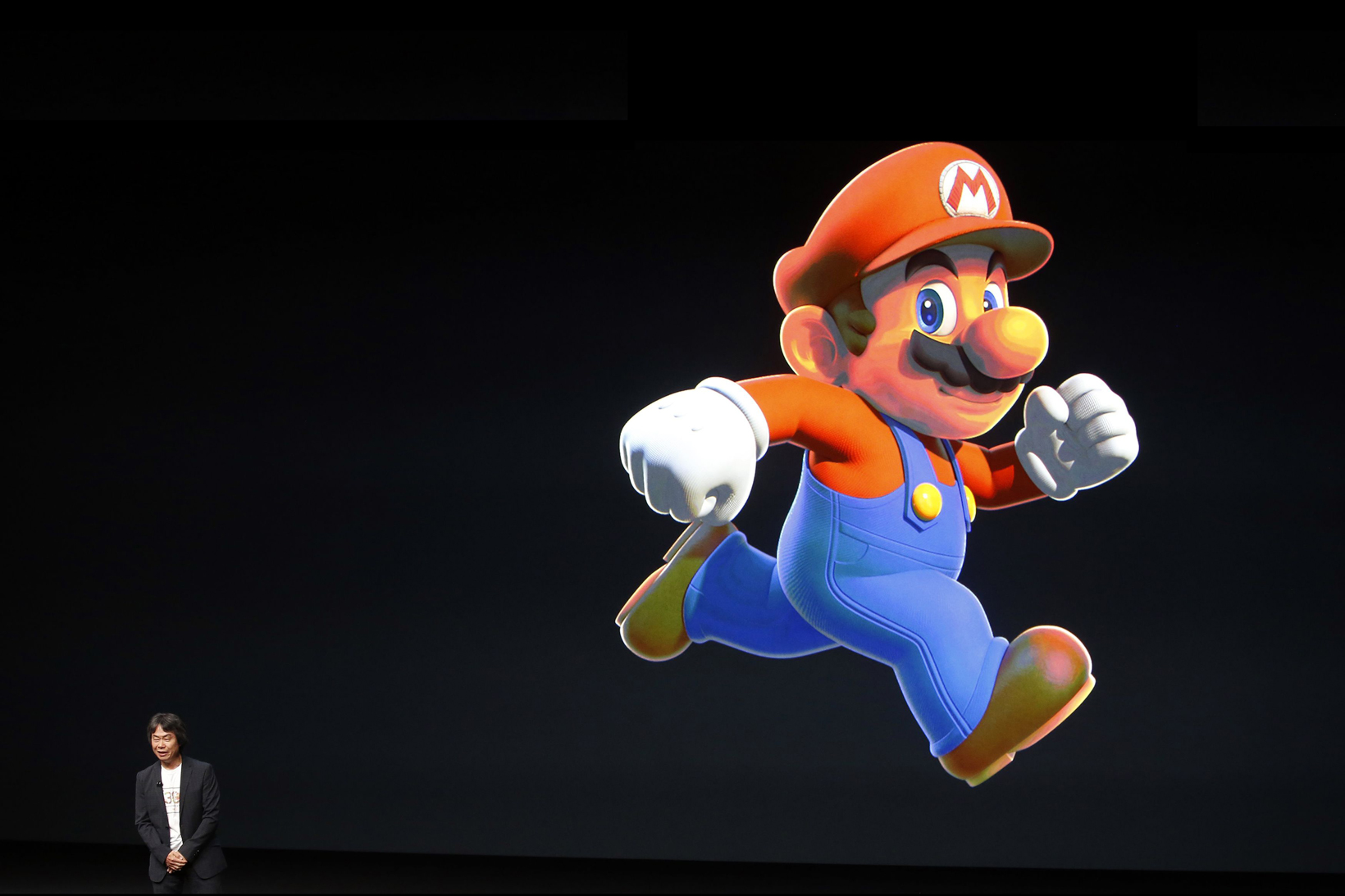Shigeru Miyamoto Super Mario Run Apple Event - 1308199