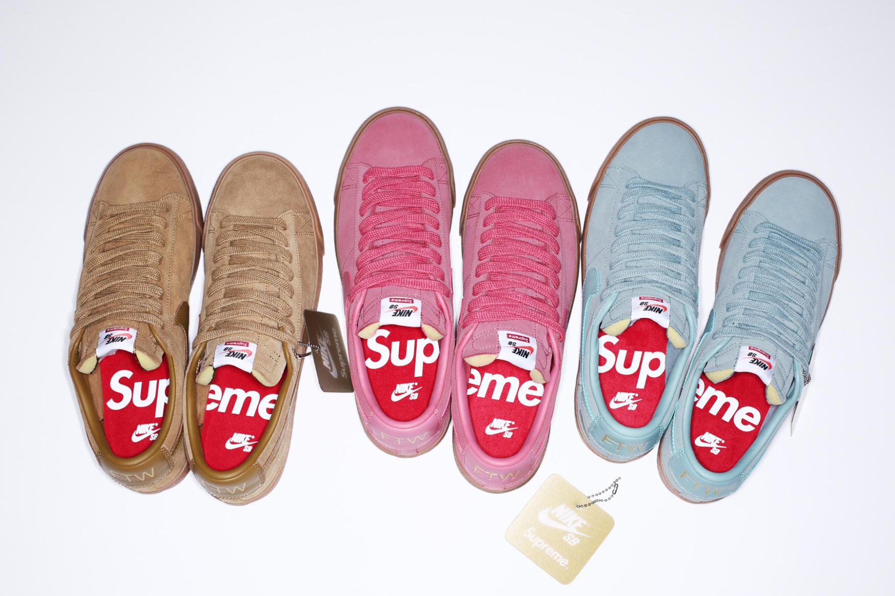 You Will Be Able to Buy the Supreme x Nike SB Blazer Low GT at Nike's Online Store