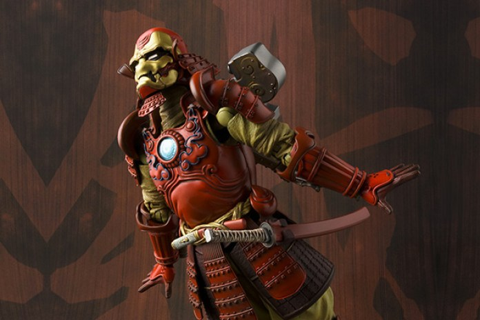 Iron Man Gets the Samurai Treatment by Tamashii Nations