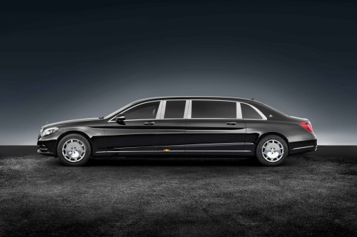 The Mercedes-Maybach Pullman Guard Is a Limo With a Bulletproof Vest