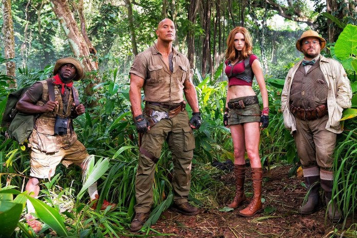 The Rock and Kevin Hart Share First Photo of 'Jumanji' Reboot