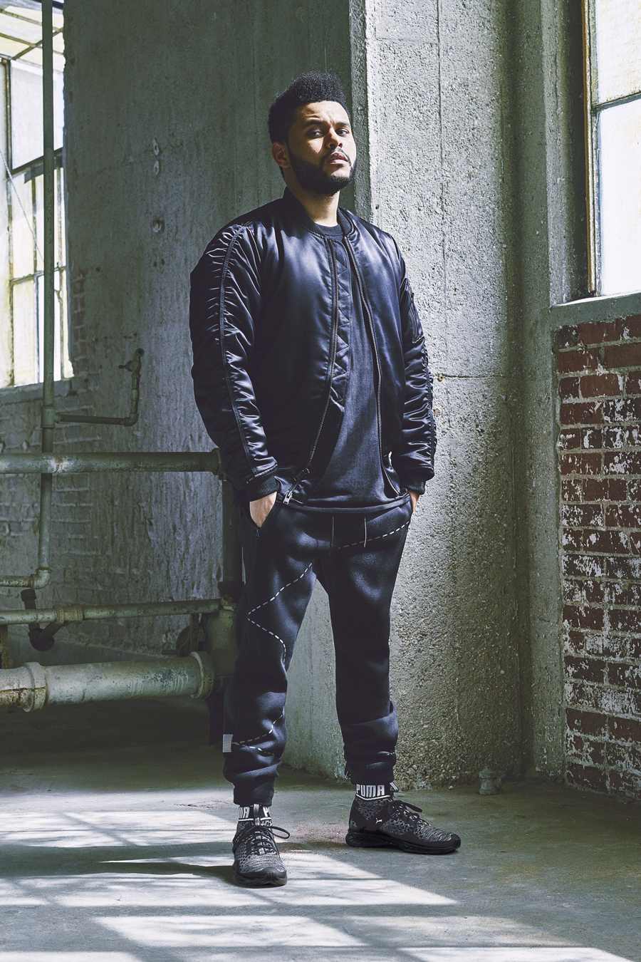 The Weeknd PUMA Ambassador Creative Collaborator
