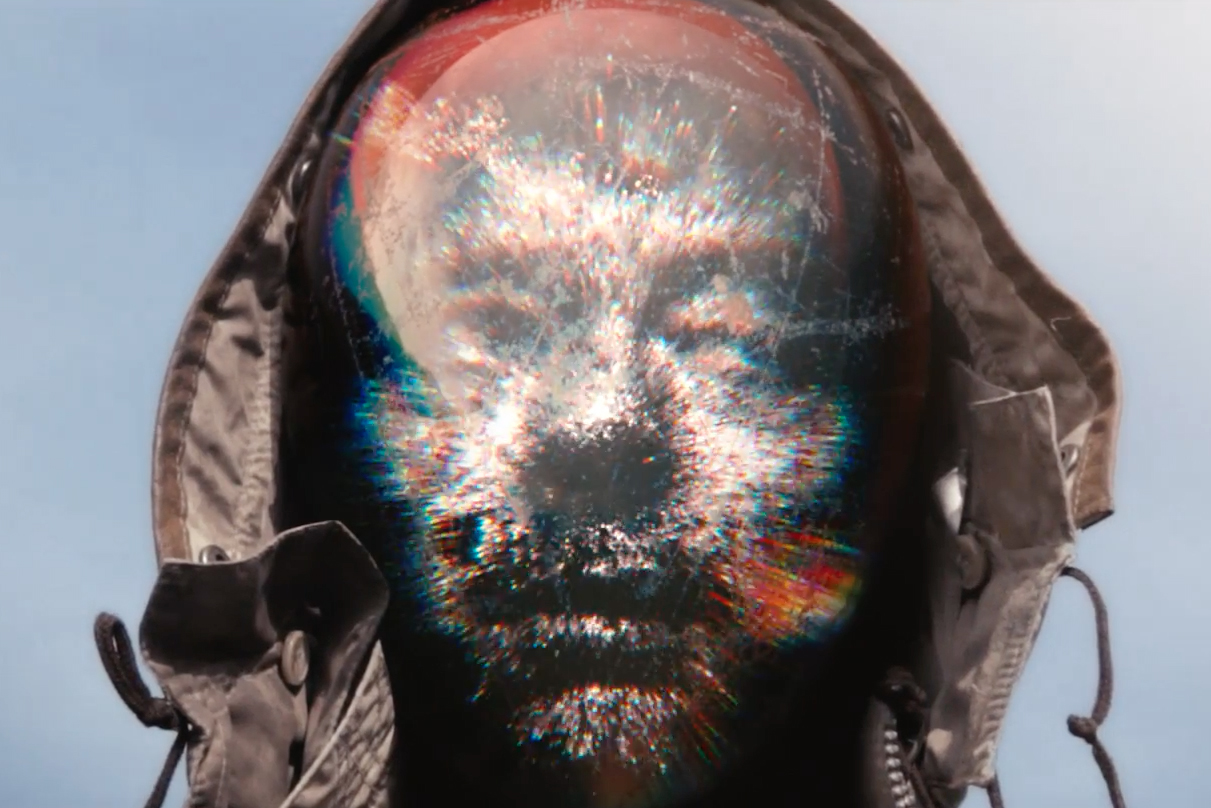 """A Holographic Thom Yorke Wanders Across a Barren Landscape in Mark Pritchard's """"Beautiful People"""" Music Video"""