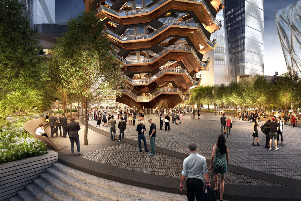 """Thomas Heatherwick's """"Vessel"""" Will Be an Endless Staircase in New York's Hudson Yards"""