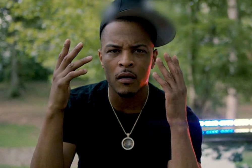 "T.I. Tackles Police Brutality in ""War Zone"" Music Video"