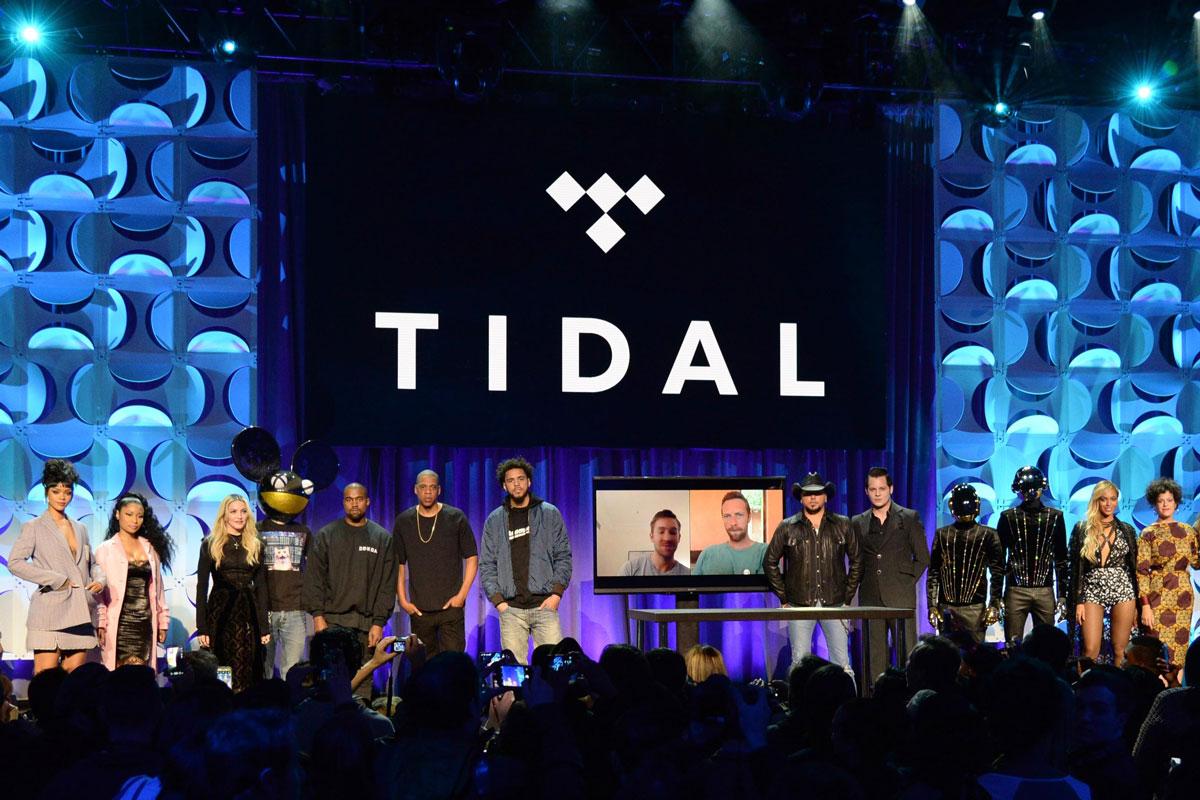 TIDAL Reports Huge Loss in 2015