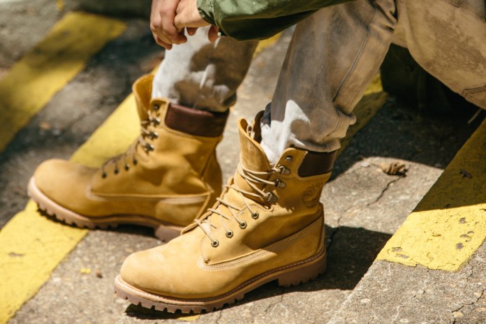 "Timberland Pays Tribute to the Classic Yellow Boot With a Special 8"" Made in the U.S. Release"