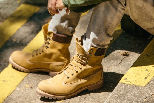 "Timberland Pays Tribute to the Classic Yellow Boot With a Special 8"" Made in the US Release"
